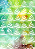 Abstract dotted watercolor background vector illustration