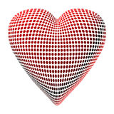 Abstract Dotty Heart Stock Images