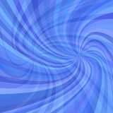 Abstract double spiral background - vector illustration from spun rays in blue tones. Abstract double spiral background - vector illustration from spun rays in stock illustration