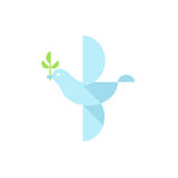 Abstract Dove Of Peace Stock Photo