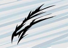 Abstract Dragon Head, T-shirt Vectorgrafiek Stock Illustratie
