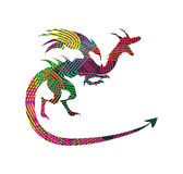 Abstract Dragon Royalty Free Stock Photo