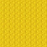 Abstract drawing. Abstract ornament of yellow color on a yellow background Royalty Free Stock Images