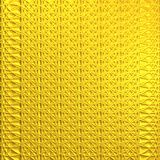 Abstract drawing. Abstract ornament of yellow color on a yellow background Royalty Free Stock Photography