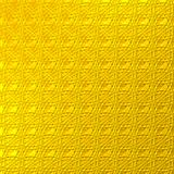 Abstract drawing. Abstract ornament of yellow color on a yellow background Stock Image