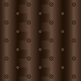 Abstract drawing in brown Stock Images
