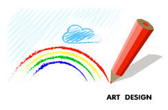 Abstract drawing .clipart. art design Stock Photos