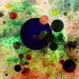 Abstract drawing. Cosmos cosmic theme stars univerce galaxy stock photography