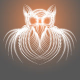 Abstract Drawing of the Owl Stock Images