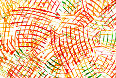 Abstract drawing water colour paints Royalty Free Stock Images