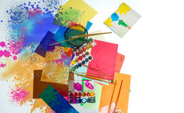 Abstract drawing Stock Photography