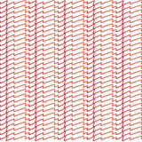 Abstract drawn red lines pattern. Drawn red lines for many use Royalty Free Stock Photography
