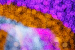 Abstract dreamy delicate soft tender defocused white light illumination Bokeh. Good for Background, backdrop, pattern, screensaver. Design, wallpaper or royalty free stock image