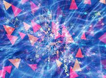 Modern technology backgrounds. Abstract dreamy modern technology backgrounds stock illustration