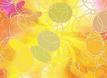 Abstract dreamy rays backgrounds Stock Images