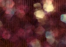 Abstract driehoeksbehang op Onduidelijk beeldachtergrond Stock Fotografie