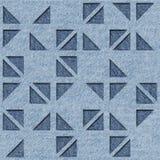 Abstract driehoekspatroon - Decoratieve driehoekige stijl stock illustratie