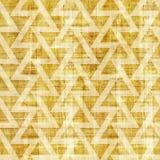 Abstract driehoekspatroon - naadloos patroon - papyrustextuur royalty-vrije illustratie