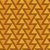 Abstract driehoekspatroon - naadloze achtergrond - stoffentextuur royalty-vrije illustratie