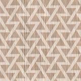 Abstract driehoekspatroon - naadloze achtergrond - Vernietigde Eik stock illustratie