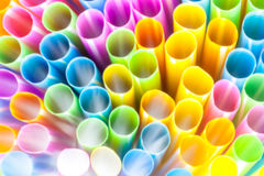 Abstract drinking straws Royalty Free Stock Photo
