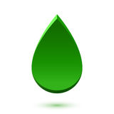 Abstract drop icon royalty free illustration