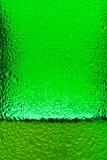 Abstract drops background. Drops condensated on a bottle of beer Royalty Free Stock Images