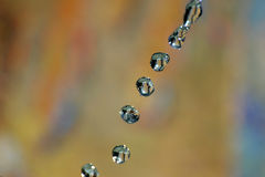 Abstract with drops Royalty Free Stock Image