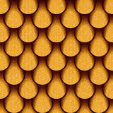 Abstract drops pattern - seamless background - decorative pattern Stock Photography