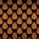 Abstract drops stacked for seamless background. Abstract clippings stacked for seamless background, structuring a wooden surface Royalty Free Stock Image