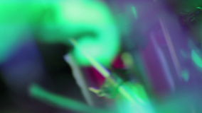 Abstract Drummer hitting Drums with Defocused and Fast Lens Motion stock video footage