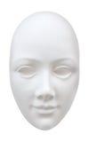 Abstract duidelijk wit gezichtsmasker Stock Afbeeldingen