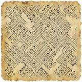 Abstract dungeon map generated texture Royalty Free Stock Image