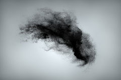 Abstract dust cloud background Stock Photography
