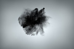 Abstract dust cloud background stock image