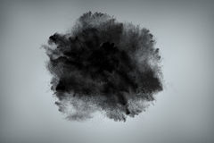 Abstract dust cloud background Stock Photo