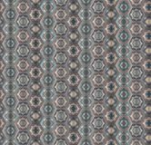 Abstract dusty gray hexagons seamless pattern. Modern  stylish texture form hexagonal minimalistic ornament for textile, wrapping paper, cover, surface Royalty Free Stock Photography