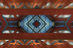 Abstract Dynamic Architecture Royalty Free Stock Image
