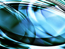 Abstract dynamic background. Abstract ilustation with round forms Stock Photography