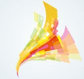 Abstract dynamic background Royalty Free Stock Image