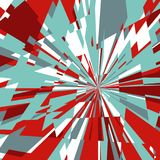 Abstract Background of Star Burst Royalty Free Stock Photo