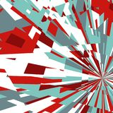 Abstract Background of Star Burst Royalty Free Stock Photography