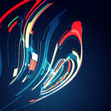 Abstract dynamic background Stock Image