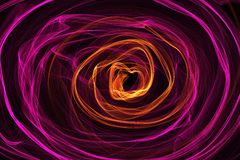 Abstract  dynamic flame lines background Stock Images