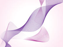 Abstract dynamic fractal series, illustration Stock Photos