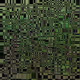 Abstract dynamic green background on black. 3d abstract dynamic green background on black. background of black and green squares Stock Photography