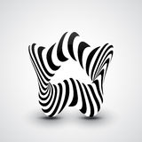 Abstract dynamic illustration Royalty Free Stock Photography