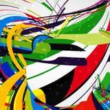 Abstract dynamic illustration Stock Photos
