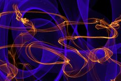 Abstract  dynamic lines background Stock Image