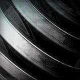 Abstract dynamic metal Royalty Free Stock Photography